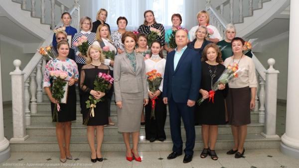 В администрации города состоялось торжественное мероприятие, посвященное Дню воспитателя и Дню учителя